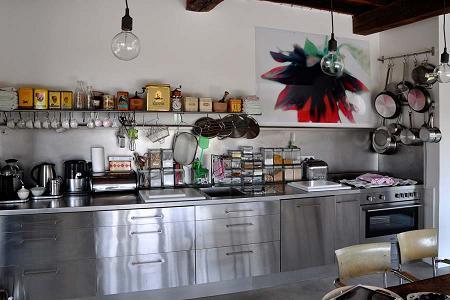 Cocinas de est tica industrial casa l 39 ho for Cocinas industriales siglo